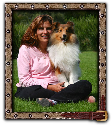 Deanne and Gunner, Whisperwind Bojangles Top Gun (pts)